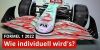 Wie individuell sehen die F1-Autos 2022 aus?