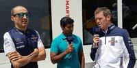 Williams in Barcelona: Kubicas Comeback