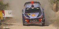 WRC Rallye Spanien: Heiße Kämpfe auf Schotter