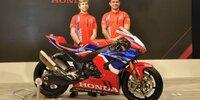WSBK: Hinter den Kulissen der Honda-Präsentation