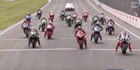 WSBK Phillip Island: Rennen 1, Highlights