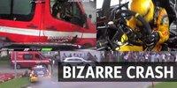 WTCC Vila Real: Tom Coronel rammt Feuerwehrauto