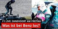 Zandvoort: Steilkurven zu viel für Mercedes?