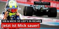 Zoff zwischen Mick Schumacher & Masepin