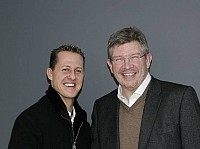 Ross Brawn (Mercedes-Teamchef), Michael Schumacher