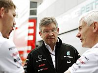Ross Brawn (Mercedes-Teamchef), Geoff Willis