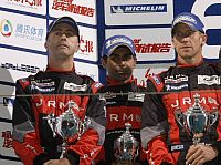 Peter Dumbreck, Karun Chandhok, David Brabham