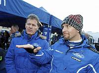 Malcolm Wilson (Ford-Teamchef), Petter Solberg