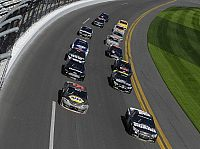 Pack-Racing in Daytona