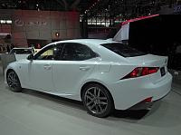 Heck des Lexus IS 250 F-Sport
