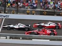 Juan Pablo Montoya, Scott Dixon, Will Power