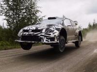 Rallye - Volkswagen testet aktuelles und neues WRC-Auto in Finnland