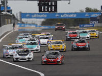 Start zum Porsche Carrera Cup