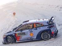 Rallye - Rallye Monte Carlo: Thierry Neuville am Freitag vorne