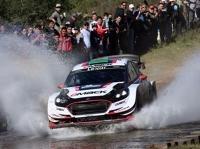 Rallye - WRC Argentinien: Elfyn Evans' Vorsprung schmilzt zusammen