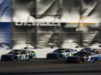Chase Elliott, Kasey Kahne, Jimmie Johnson
