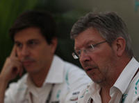 Ross Brawn, Toto Wolff