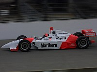 Helio Castroneves 2001 Indy 500 Sieg Penske