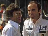 Frank Williams (Teamchef), Bernie Ecclestone (Formel-1-Chef)