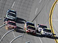 Clint Bowyer, Jeff Gordon, Jimmie Johnson, Kevin Harvick, Mark Martin, Dale Earnhardt Jun.