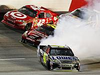 Juan Pablo Montoya, Jimmie Johnson