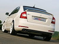 Skoda Octavia RS back