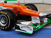 Die Nase des Force India VJM05