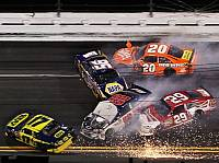Joey Logano, Dale Earnhardt Jun., Matt Kenseth, Kevin Harvick