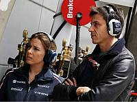 Claire Williams und Toto Wolff