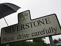 Silverstone: Please drive carefully!