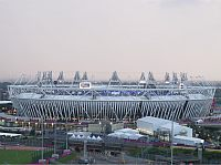 Olympiastadion in London-Stratford