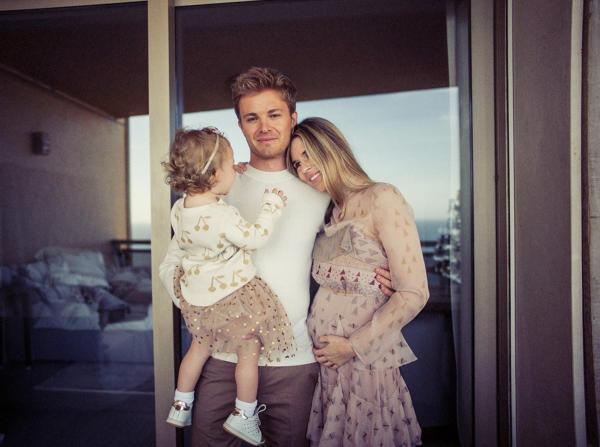 Muss Vivian Rosberg in Zukunft auch um den Nachwuchs zittern?