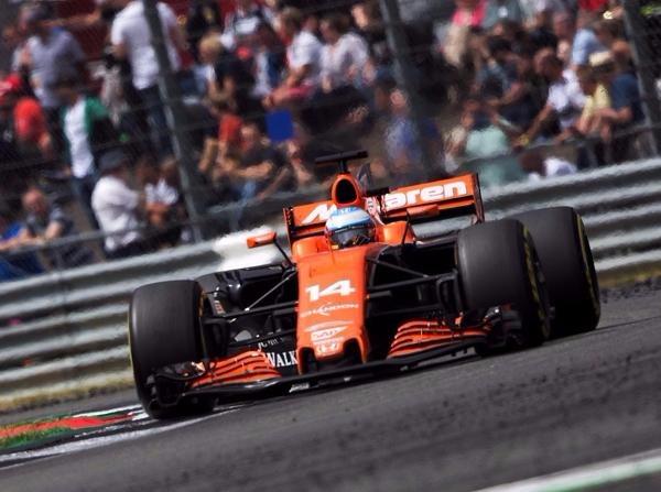 Fernando Alonso dachte in Silverstone schon an den Ungarn-Grand-Prix