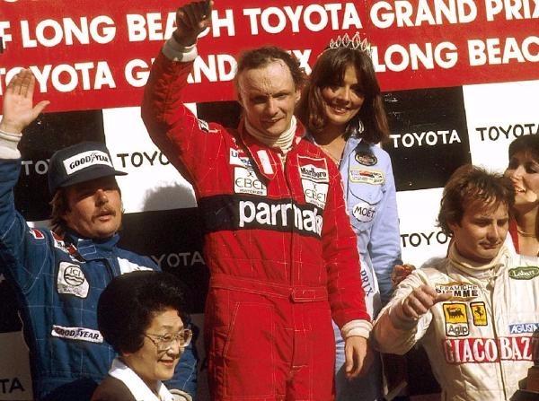 Niki Lauda wartete nach seinem Rücktritt mehr als drei Jahre auf einen Sieg