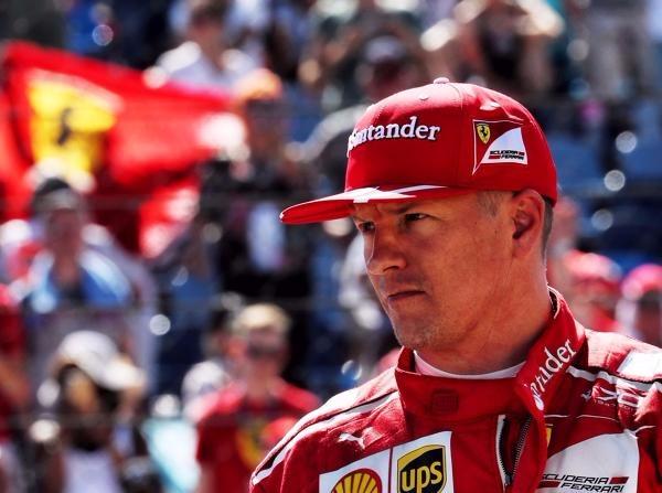 Die Freude an der Formel 1 sieht man Kimi Räikkönen nicht immer an ...
