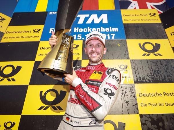 In seinem ersten DTM-Jahr gewinnt Rene Rast die Meisterschaft