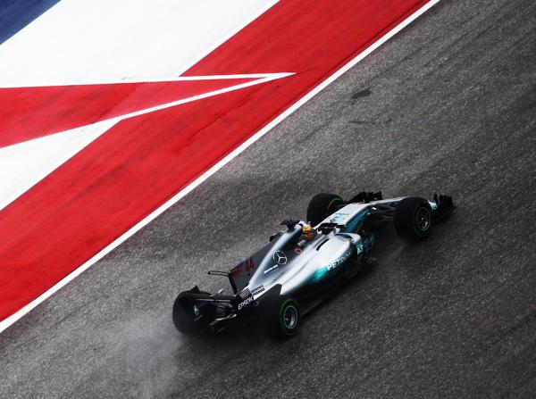 Lewis Hamilton sicherte sich die Bestzeit im ersten Freien Training in Texas