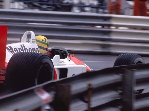 1988 schrieb Ayrton Senna in Monaco Formel-1-Geschichte
