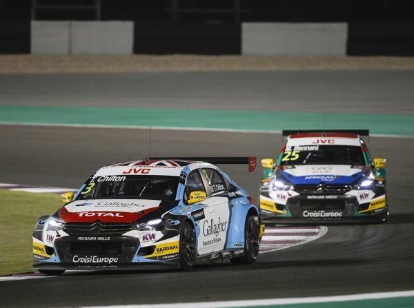 Tom Chilton triumphierte im Eröffnungsrennen von Katar