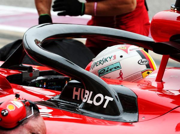 Sebastian Vettel mit Halo: An diesen Anblick müssen sich die Fans gewöhnen