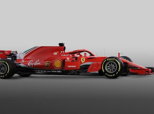 Der neue Ferrari SF71H ist eine Evolution des erfolgreichen Vorjahresautos