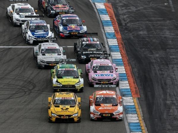 Das DTM-Rennen am Norisring startet vor dem Formel-1-Rennen in Frankreich
