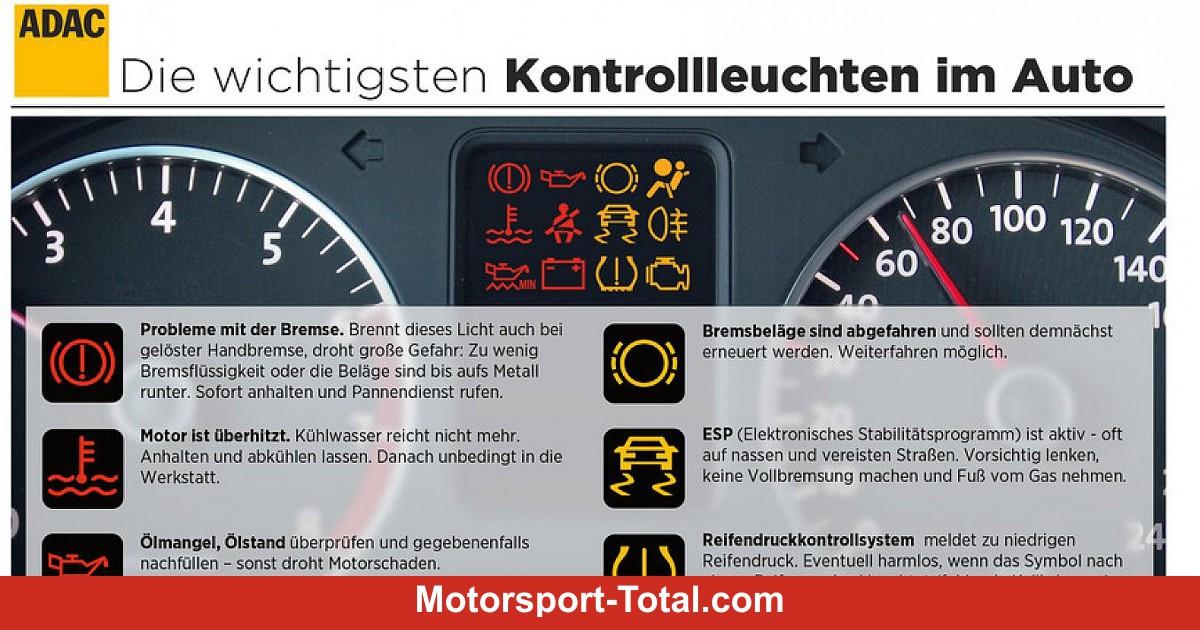 News: Ratgeber: Was tun, wenn es leuchtet? - Auto bei Motorsport-Total.com