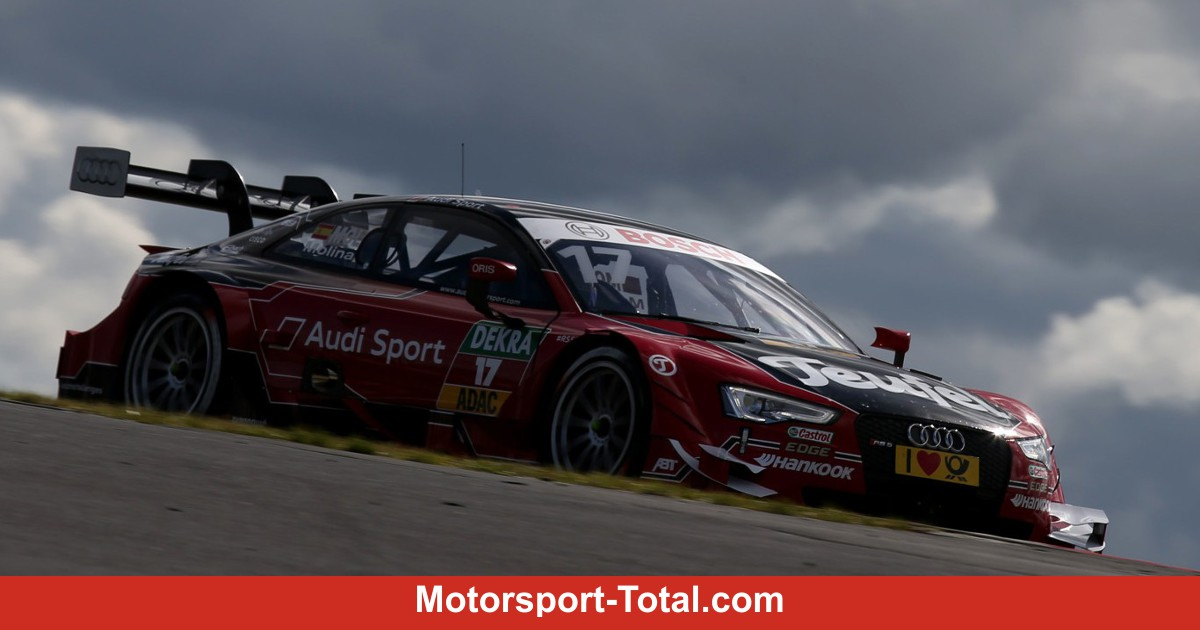 nrburgring der freitag gehrt audi dtm bei motorsport. Black Bedroom Furniture Sets. Home Design Ideas