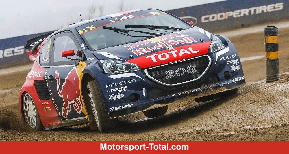 sebastien loeb rallycross ist nicht einfach rallye bei motorsport. Black Bedroom Furniture Sets. Home Design Ideas