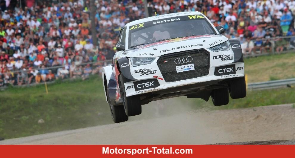 rallycross wm hljes hexenkessel in schweden rallye bei motorsport. Black Bedroom Furniture Sets. Home Design Ideas