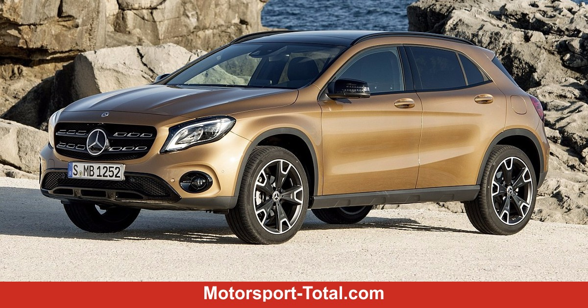 premieren mercedes benz gla facelift 2017 erster auftritt in detroit auto bei motorsport. Black Bedroom Furniture Sets. Home Design Ideas
