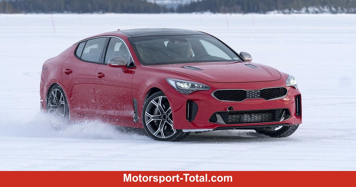 news kia stinger 2017 test nach nordschleife nun nordschweden auto bei motorsport. Black Bedroom Furniture Sets. Home Design Ideas