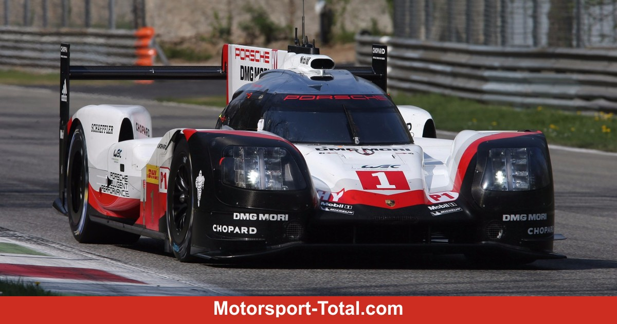porsche spielt risiko le mans aero in silverstone wec wec bei motorsport. Black Bedroom Furniture Sets. Home Design Ideas