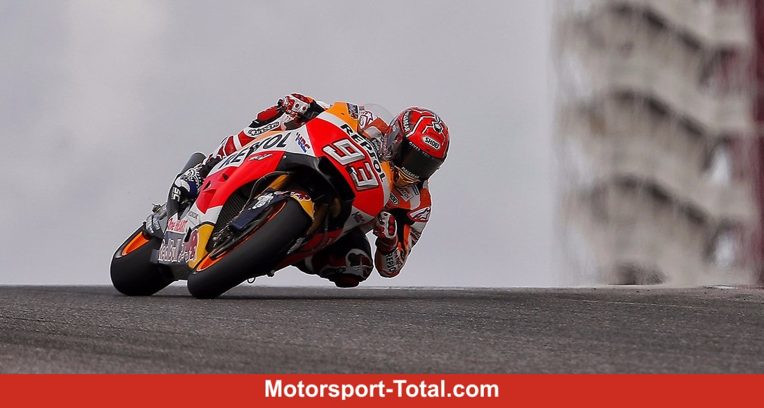 MotoGP Austin: Marquez rgert Vinales, Rossi wird Vierter - Motorrad bei Motorsport-Total.com